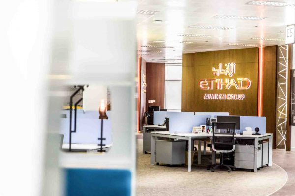 Etihad Airways Aviation Group Office Abu Dhabi
