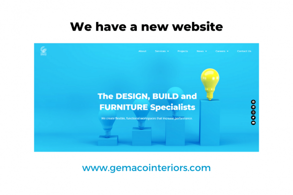 Gemaco Interiors - New Website 2020